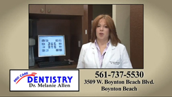 Cosmetic Dentistry services provided with a gentle woman's touch by Dr. Melanie Allen, dentist at ProCare Dentistry in Boynton Beach Florida.